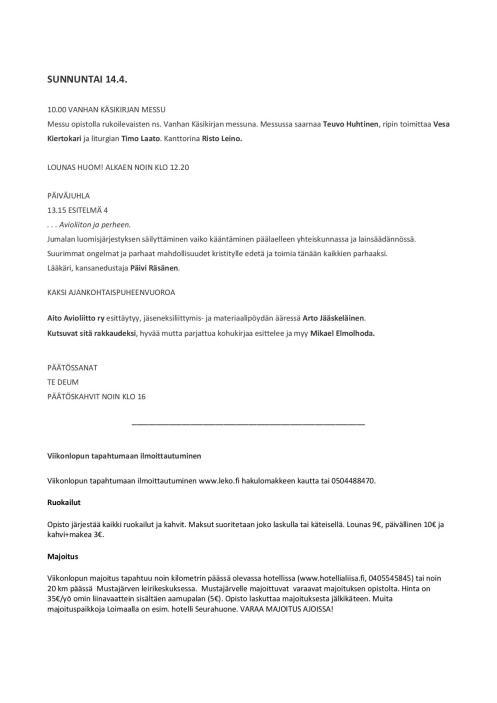 Paavalin synodin paastonajan kirkkopäivät 2019 ohjelmalehtinen-page-003